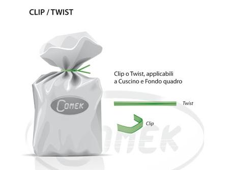 Clip y Twist Comek